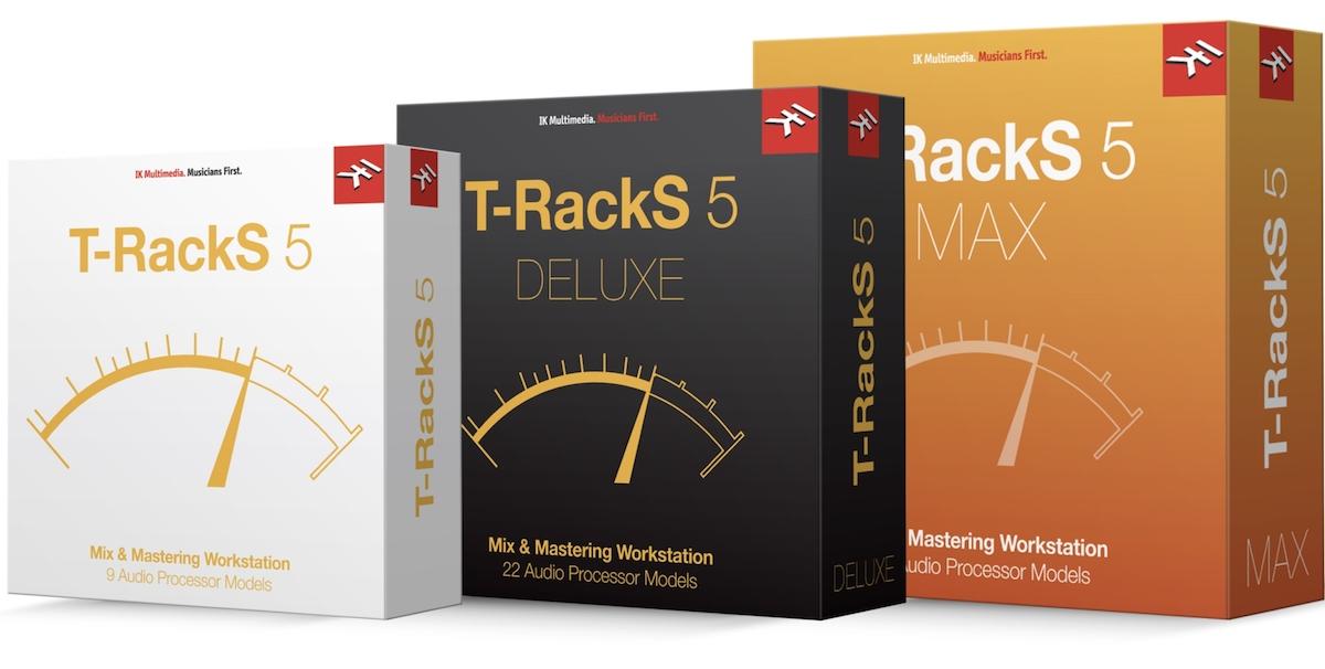T-RackS 5 Versions